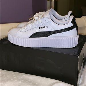White Puma Sneakers